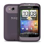 HTC Wildfire S Лилав